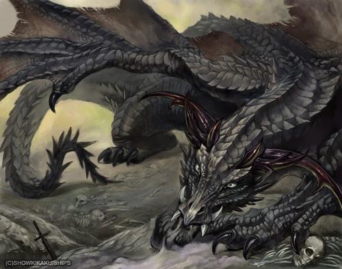 黒竜エリクネス